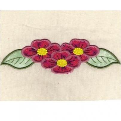 Floral Cutwork