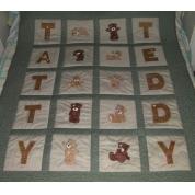 Applique Tatty Teddy -3