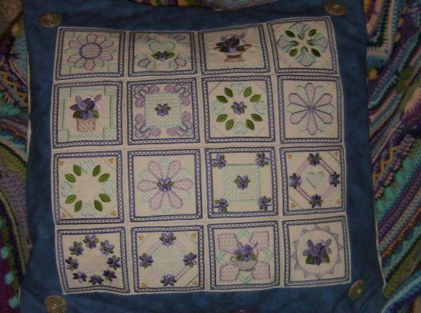 Violet Squares -3