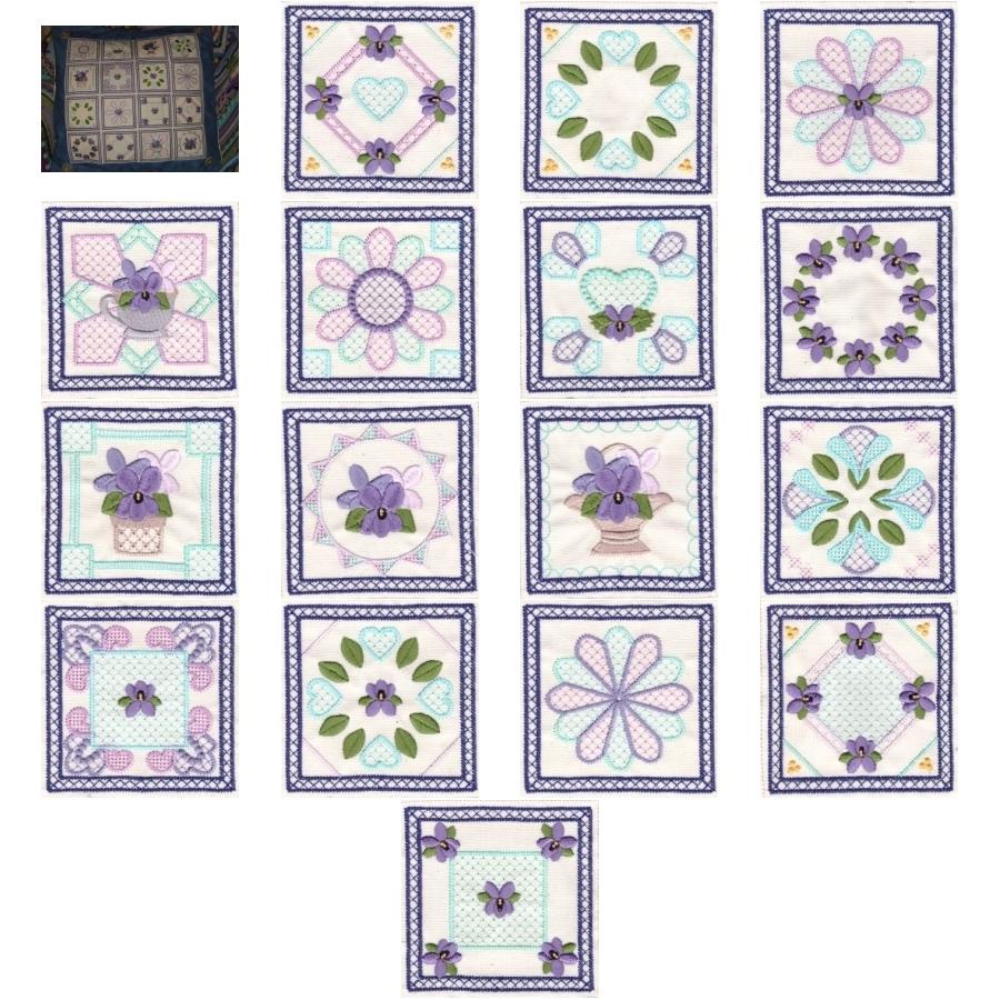 Violet Squares