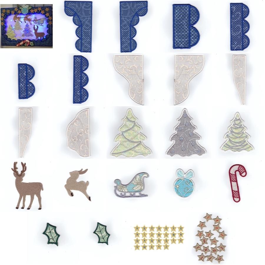 ITH Build A Christmas Scene