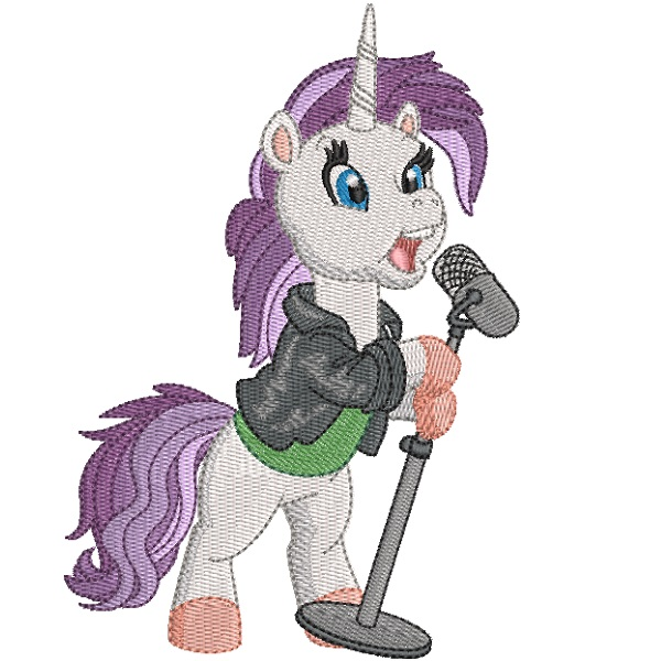 Rock Star Unicorn 03