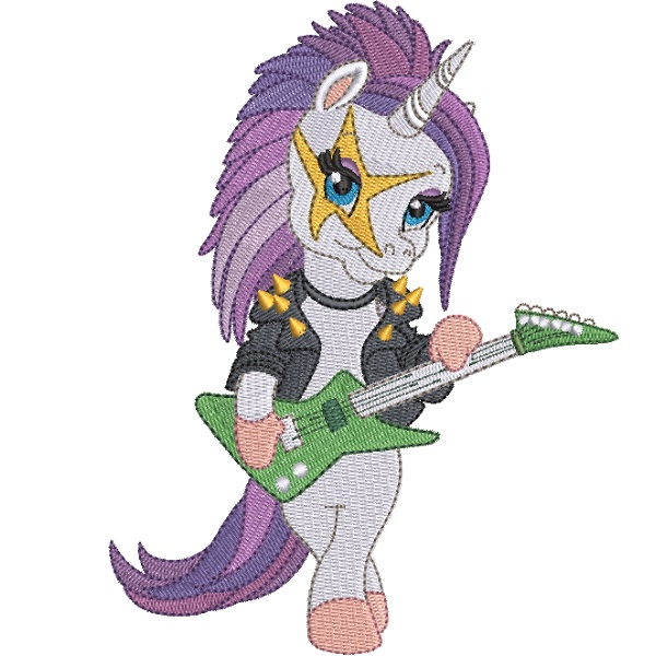 Rock Star Unicorn 04