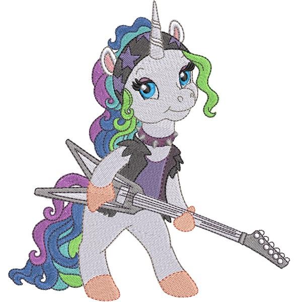 Rock Star Unicorn 05