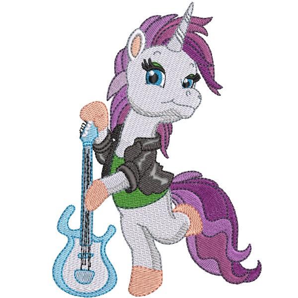 Rock Star Unicorn 06