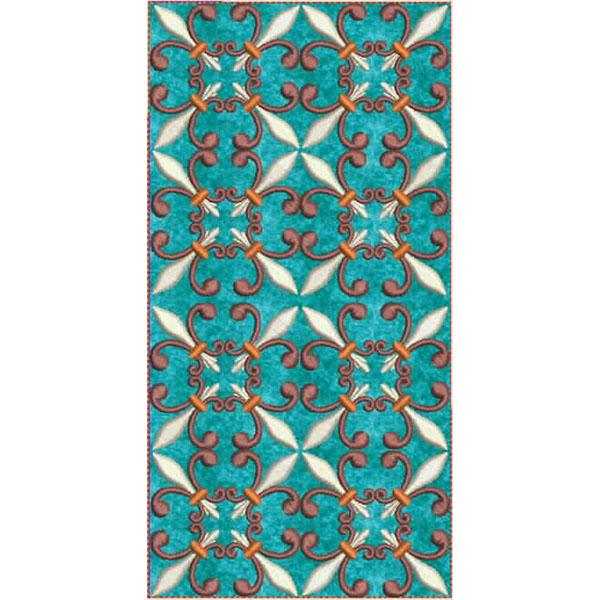 Moroccan Tile Quilt-11