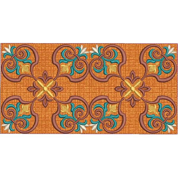 Moroccan Tile Quilt-13