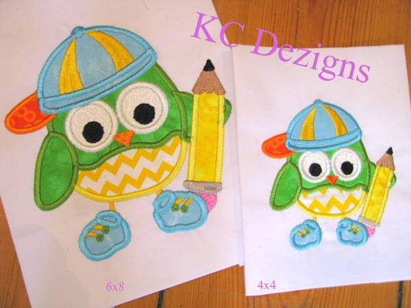 Boy Owl With Pencil