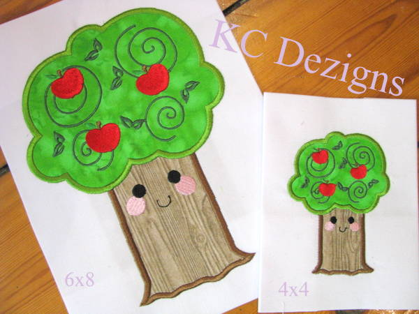 Smiley Apple Tree