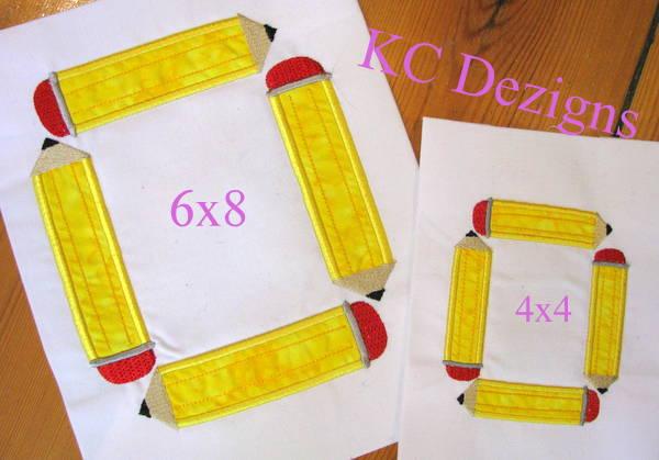 Square Pencil Monogram