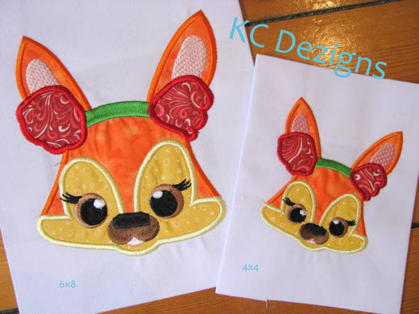 Christmas Critter Fox With Ear Warmers