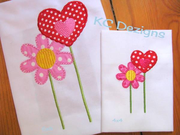 Fairy Flower and Heart