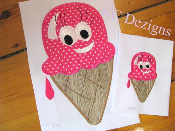 Smiley Ice Cream