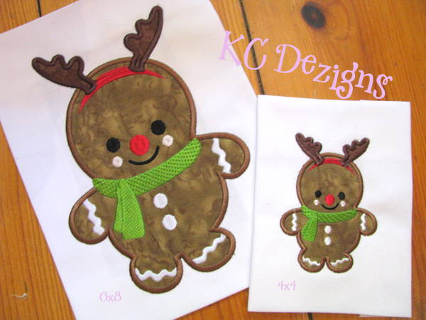 Baby Gingerbread Rudolph