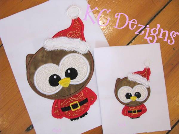 Cute Santa Owl