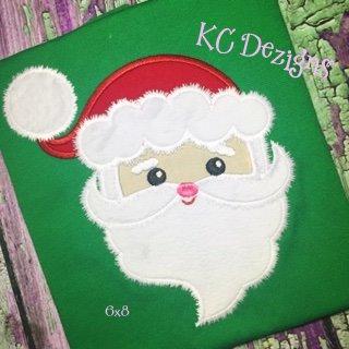 Fuzzy Santa Face