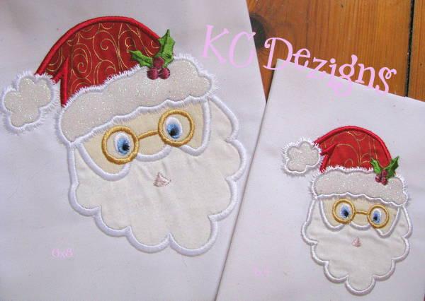 Santa With Glasses