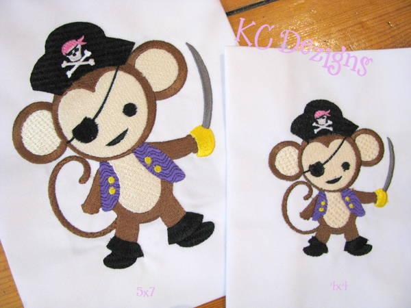 Pirate Girl Monkey 02