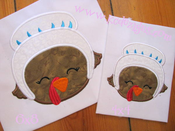 Girl Turkey With Hat