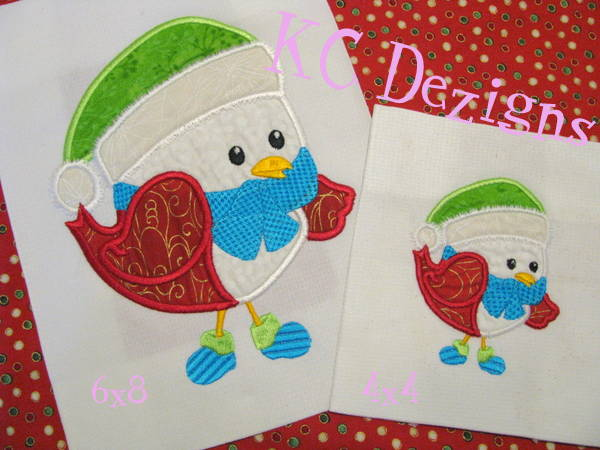 Christmas Bird 01