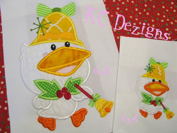 Christmas Duck 01