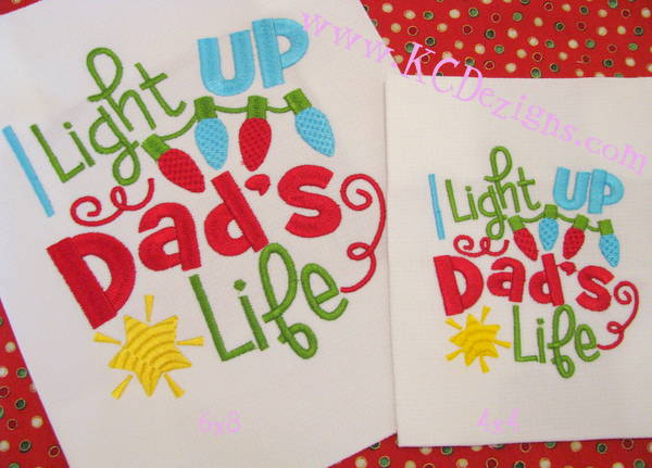 I Light Up Dad's Life