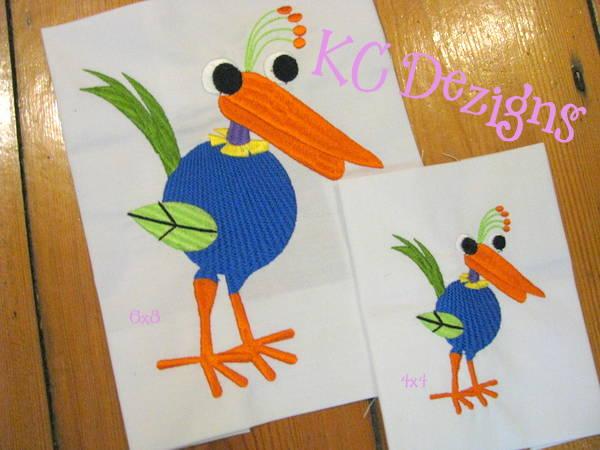 Googly Eyed Bird 07