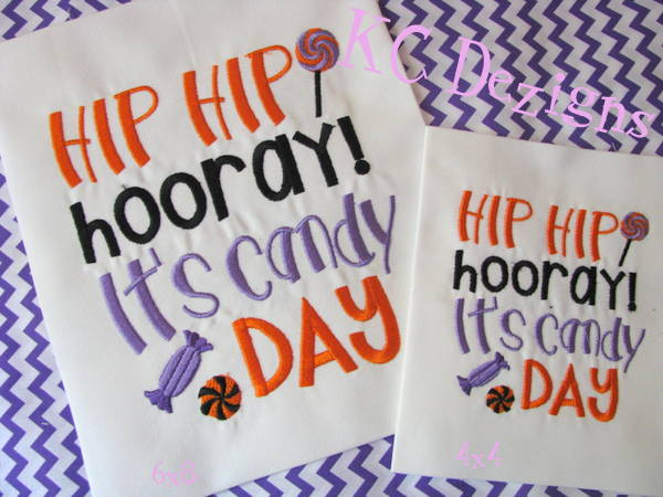 Hip Hip Hooray It's Candy Day
