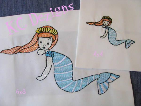 Mylar Mermaid 03