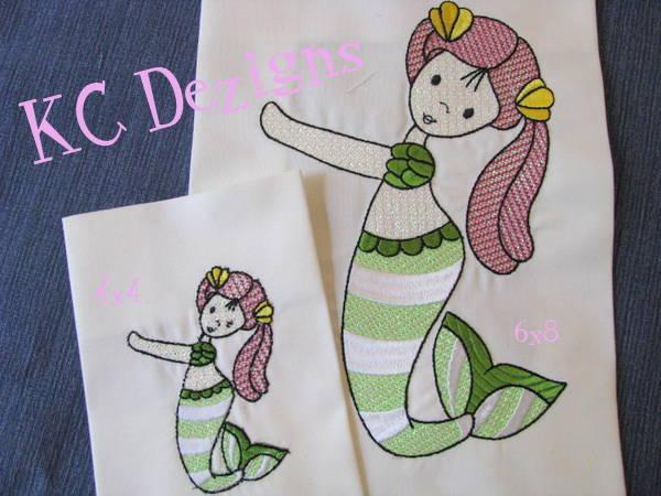 Mylar Mermaid 09
