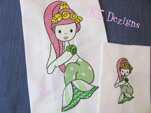 Mylar Mermaid 10