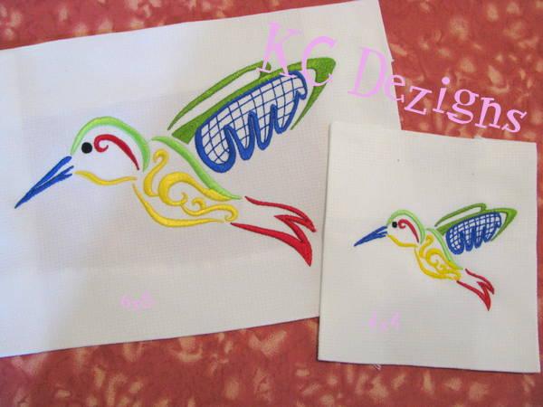 Outline Hummingbird 01