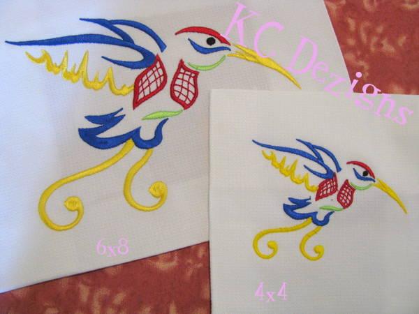 Outline Hummingbird 03