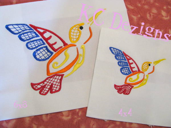 Outline Hummingbird 04