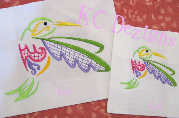 Outline Hummingbird 10