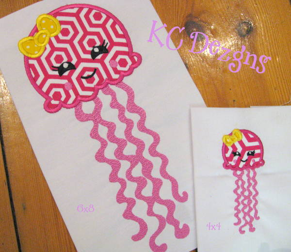Girly Octopus With Bow