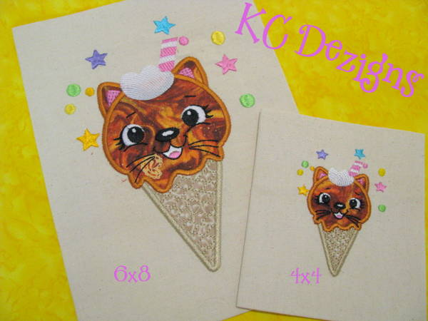 Ice Cream Kittie