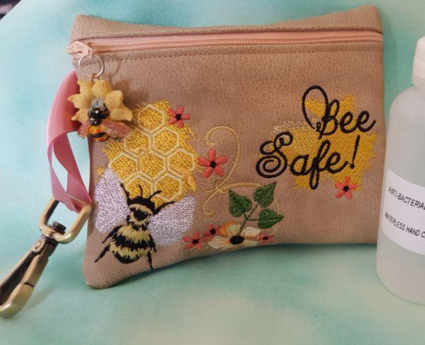 Bee Safe Zipper Bag-3