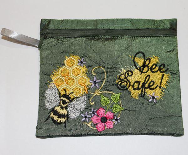 Bee Safe Zipper Bag-4
