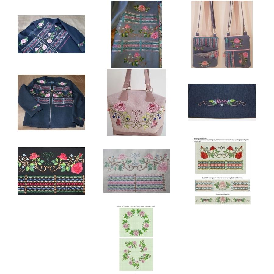 Rose Jacket designs