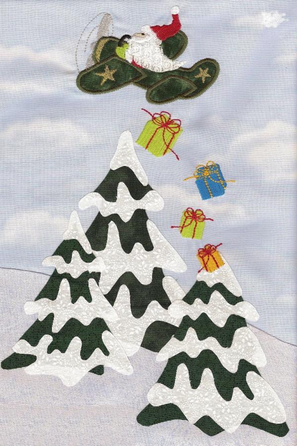 Santas Applique Collection-3