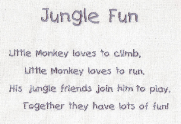 Little Monkey Jungle Friends-4