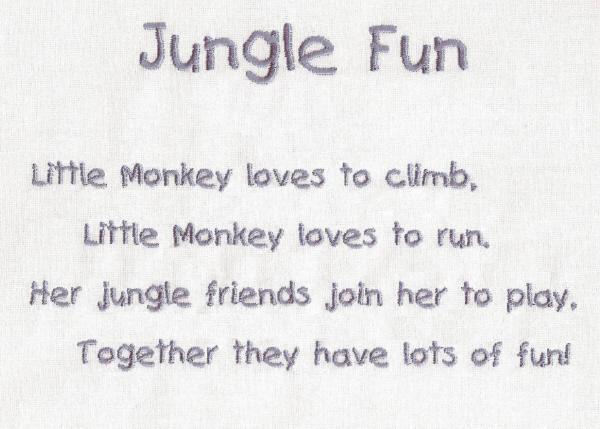 Little Monkey Jungle Friends-5