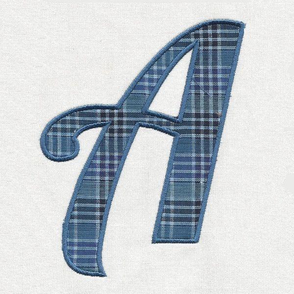 Annes Applique Alphabet -3