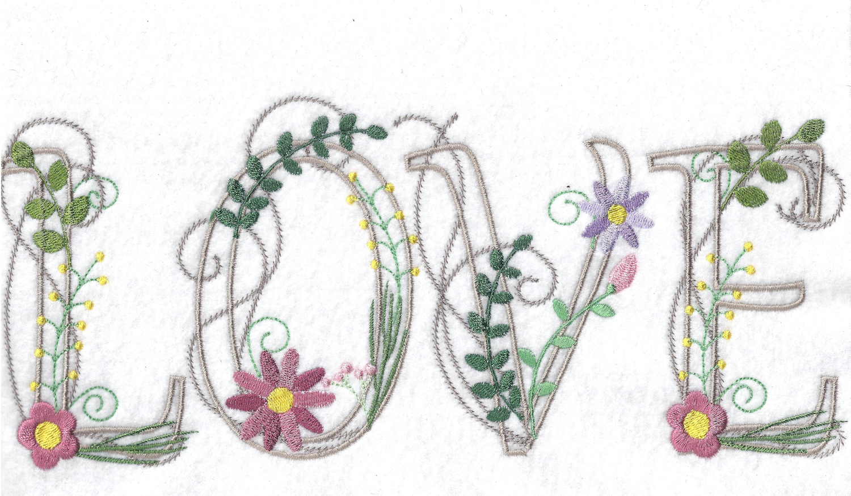 Floral Alphabet-3