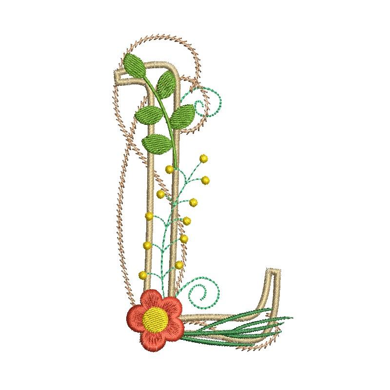 Floral Alphabet-15