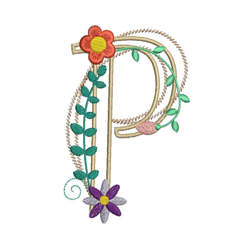 Floral Alphabet-19
