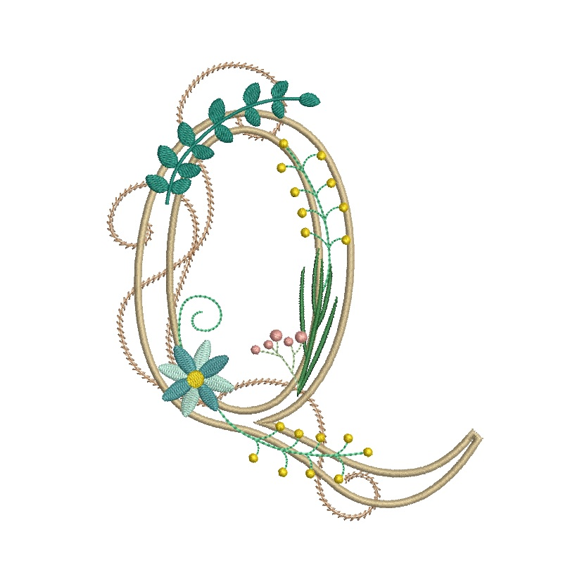 Floral Alphabet-20