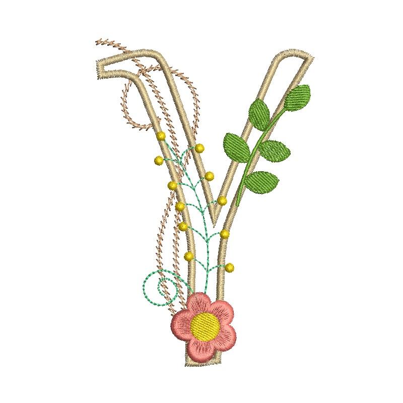 Floral Alphabet-28