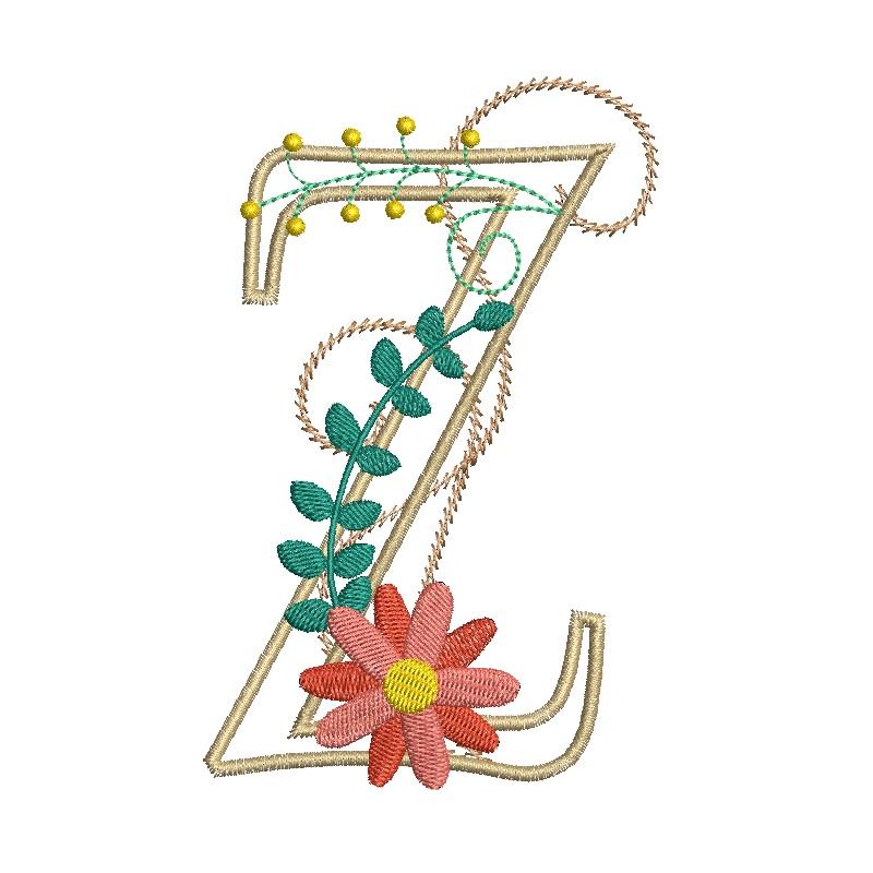 Floral Alphabet-29